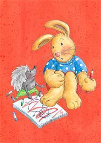 kanin och igelkott