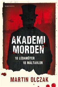 Bokomslag Akademimorden av Martin Olczak